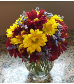 Autumn Daisy Bowl
