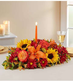 Fall Fields of Europe Centerpiece