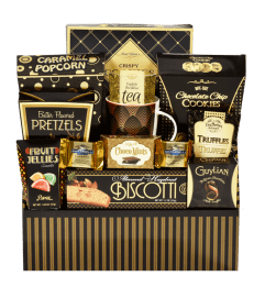 Elegant Delight Gift Basket