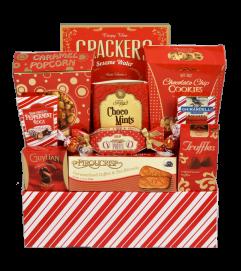 Peppermint Treat Gift Basket