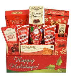 Happy Holidays Gift Basket