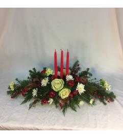 Christmas Plaid Centerpiece
