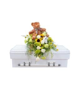 Tiny Angels Casket Spray