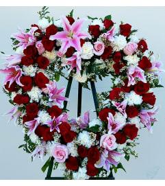 Soft Pink Stargazer Heart