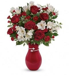 Teleflora's Pair of Hearts Bouquet