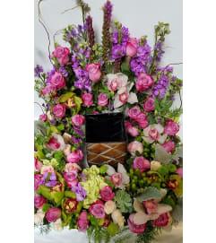 Memorial Service Urn Wreath