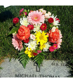 Fairy Garden Gravesite Arrangement