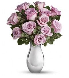 Lavender or pink roses