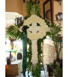 Celtic Cross all white (Please call for availability)