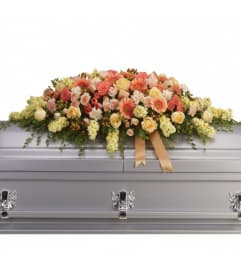 Warm Embrace Casket Spray