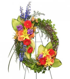 Color My World Wreath