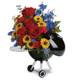 Weber Hot Off The Grill by Teleflora