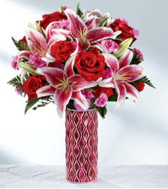Lasting Romance® Bouquet -VASE INCLUDED