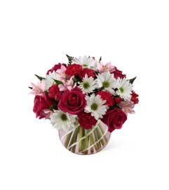 The FTD® Perfect Blooms™ Bouquet - VASE INCLUDED