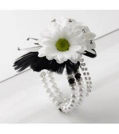 Deluxe Sparkle Corsage 105