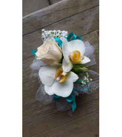 Deluxe Sparkle Corsage 1012