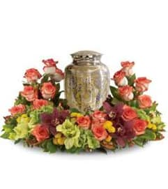 Eternal Urn Flower Wreath