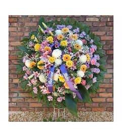 Pastel Wreath  GF-WR2