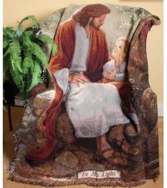 JESUS MEMORIAL THROW