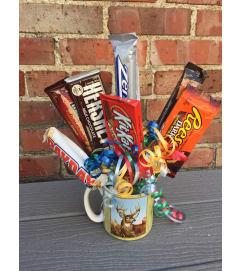 Coffee Mug Candy Bouquet