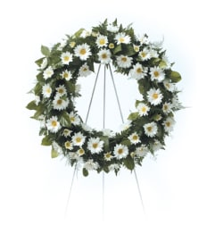 Daisy Wreath CTT4-31