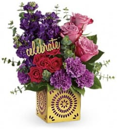 Teleflora's Thrilled For You Bouquet