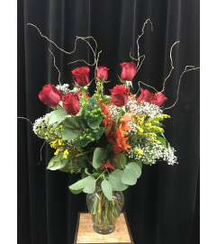 Premium Season Dozen Roses