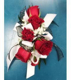 Classic Miniature Rose Corsage