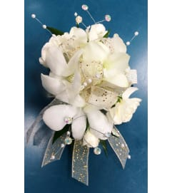 Shimmering Orchid Corsage