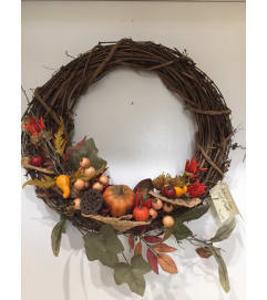 Medium Vine Fall Wreath
