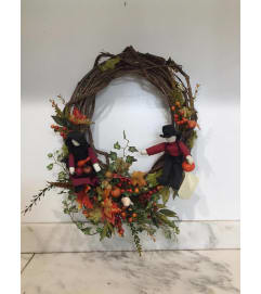 Amish Country Fall Wreath
