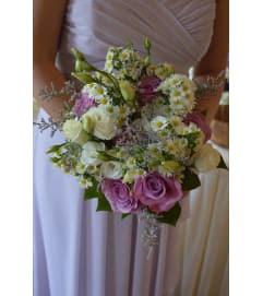 Handtied Bouquet - gardeny