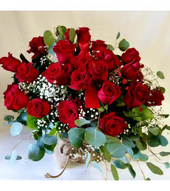 Charm Red rose