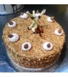 Almond Cream Cake