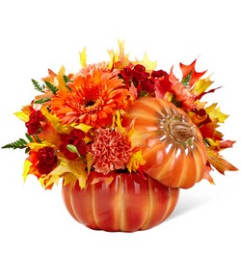 Bountiful Bouquet of Fall Pumpkin
