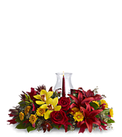 THANKSGIVING WARMTH CENTERPIECE