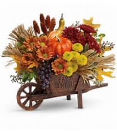 Wagon full of fall