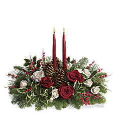 Christmas Wishes Centerpiece As Seen On 101.32WD Radio