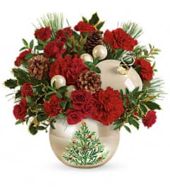 Christmas Tree Ornament Bouquet