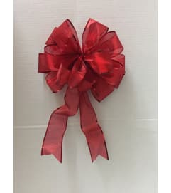 6 Yard Red Ribbon bow