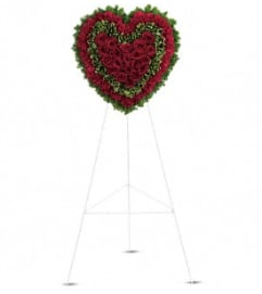 Majestic Heart - by Jennifer's Flowers