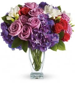Rhapsody in Purple - by Jennifer's Flowers