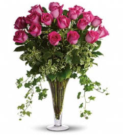 Dreaming in Pink - Long Stemmed Pink Roses