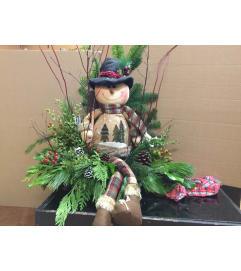 Jolly Christmas Snowman