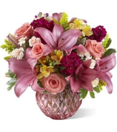 PINK POISE BOUQUET
