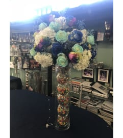 Bat Mitzvah center piece