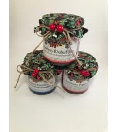 ELF'S DELIGHT,  3 jars of local jam