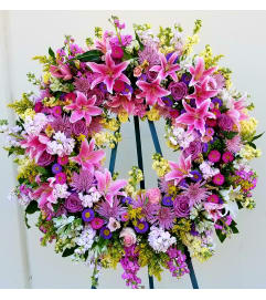 Beauty in Bloom Wreath