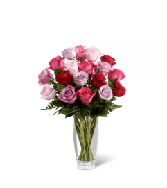 The FTD® Captivating Color™ Rose Bouquet