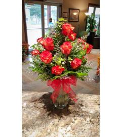 Dozen Roses from the Heart